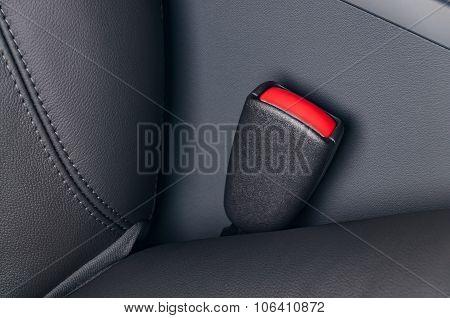 Seat belt fastener