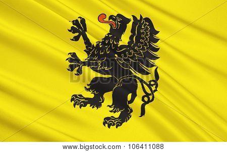 Flag Of Pomeranian Voivodeship In North-central Poland