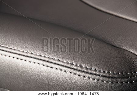 Seat leather interior