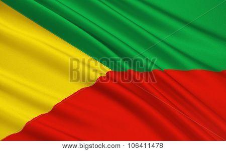Flag Of Chita Region, Russian Federation