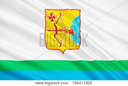 Flag Of Kirov Oblast, Russian Federation