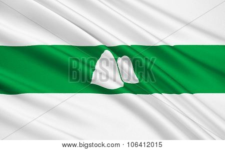 Flag Of Kurgan Oblast, Russian Federation