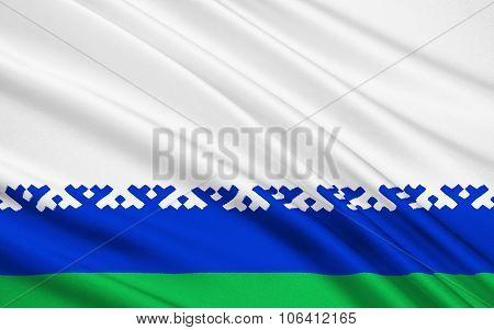 Flag Of Nenets Autonomous District, Russian Federation