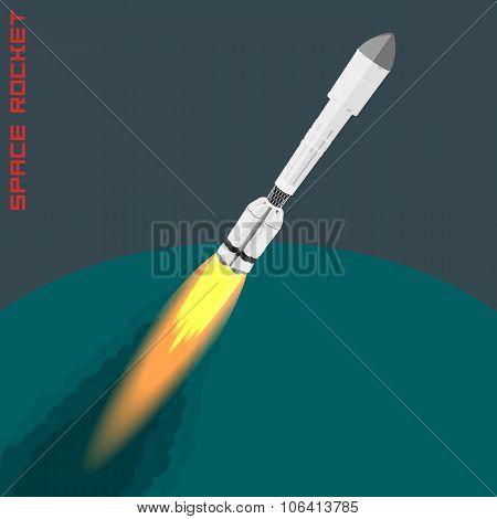 Proton Space Rocket