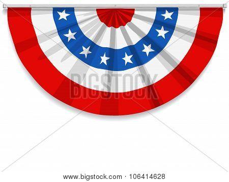 Bunting Usa Flag