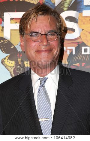 LOS ANGELES - OCT 28:  Aaron Sorkin at the 29th Israel Film Festival - Opening Night Gala at the Saban Theatre on October 28, 2015 in Beverly Hills, CA