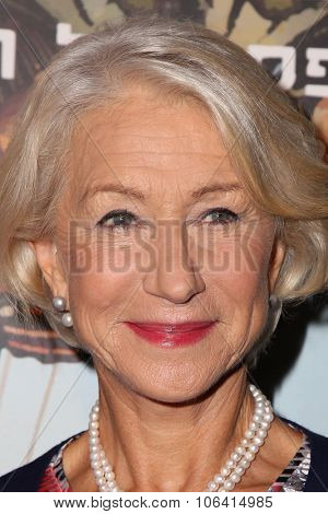 LOS ANGELES - OCT 28:  Helen Mirren at the 29th Israel Film Festival - Opening Night Gala at the Saban Theatre on October 28, 2015 in Beverly Hills, CA
