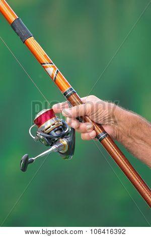 Reel Of Cane Fisherman