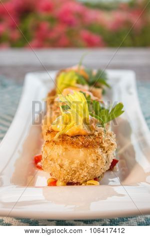 Crab Cakes With Corn Relish