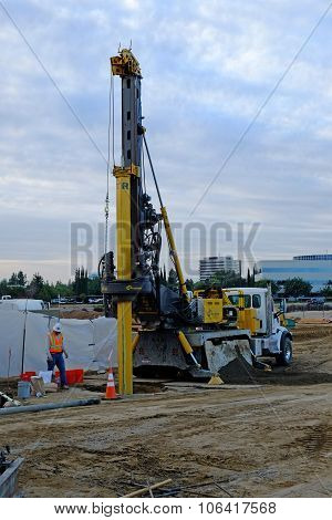 Foundation Drilling Machine