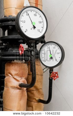 Manometers In Heating System