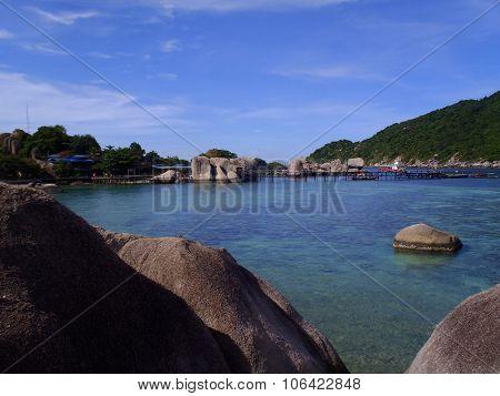 Nang Yuan Island At Koh Tao, Thailand