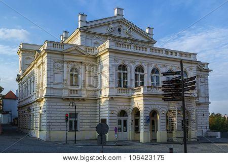 Neo-renaissance Building, Tabor, Czech Republic