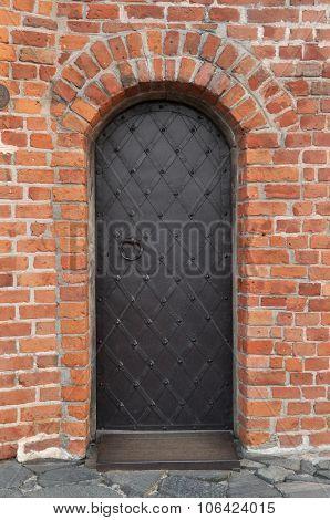 Ancient Metal Door Bar