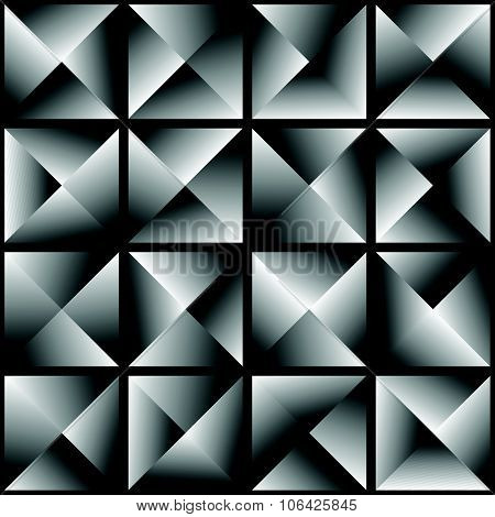Abstract Studded Background / Repeatable Pattern. Vector.