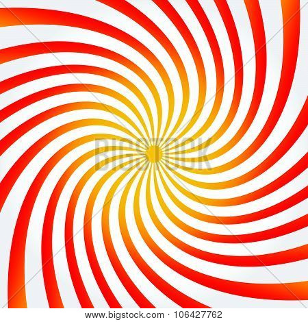 Spiral, Twisting Background, Pattern In Square Format.
