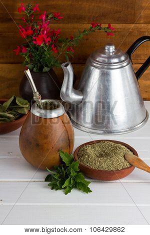 Yerba Mate Traditional Latinamerican Tea