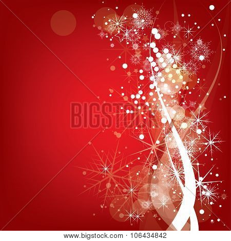 Abstract Christmas winter background  for new year