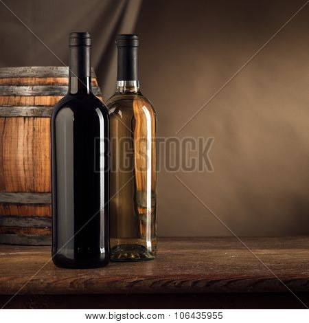 Wine Making Still Life