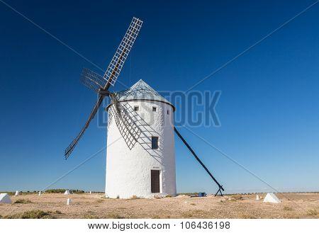 Windmill At Campo De Criptana La Mancha, Spain