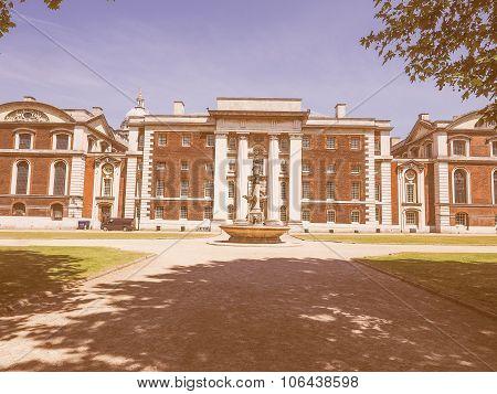 Retro Looking Naval College In London