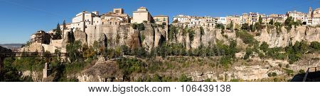 Panorama Of Cuenca In Castilla-la Mancha, Spain