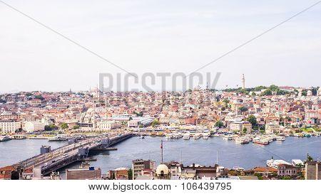 Eminönü District Along Golden Horn, Istanbul