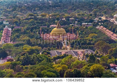 Mandalay city panorama