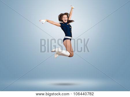 Cheerleader girl