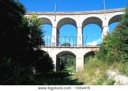 19th C. Semmering Incline Railway Bridge