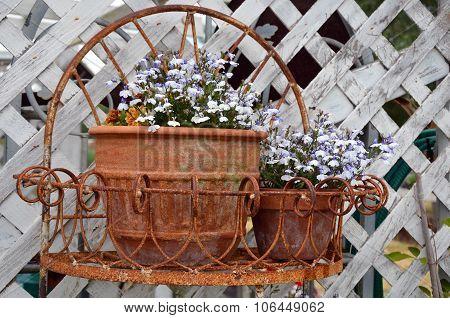 Rusty Flowerpots