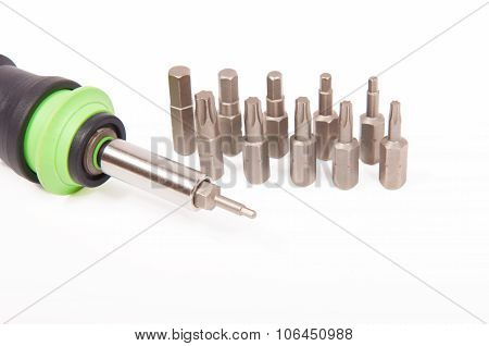 Screwdriver With Interchangeable Tips