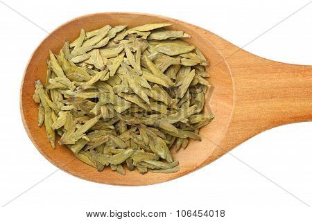 Chinese Tea - Longjing Tea Leaves