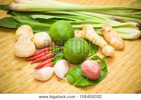 Herbs And Spices. Aromatic Ingredients And Natural Food Additives.