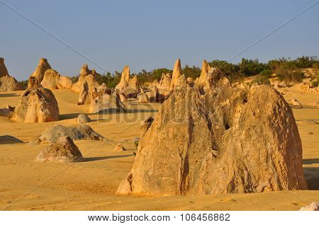 Pinnacle Desert in Cervantes, Western Australia