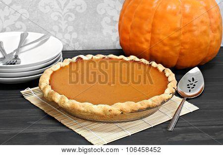 One Whole Pumpkin Pie
