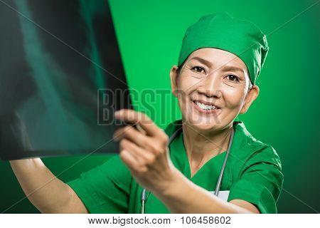 Mature Radiologist
