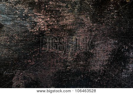 Old And Weathered Paint Peeled Grunge Wooden Background Texture