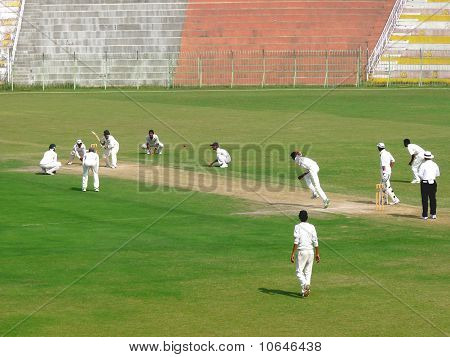 Cricket Bowling Attack