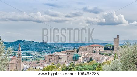Castiglione Fiorentino, An Ancient Medieval Town In Tuscany