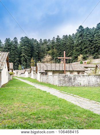 Camaldoli Monastery In Tuscany