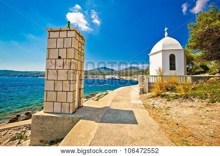 Dugi Otok Island Lantern And Chapel