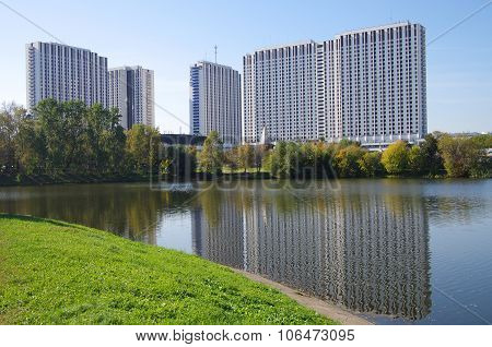 "Moscow, Russia - September 23, 2015: Tourist Hotel Complex ""izmailovo"" In Izmaylovo, Moscow"