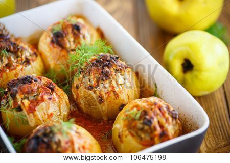 Quince Stuffed With Meat