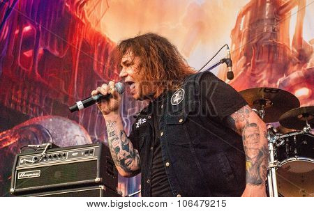 Exodus live at Soundwave Festival, Brisbane 2015