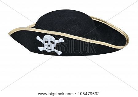 Pirate Hat On White Background