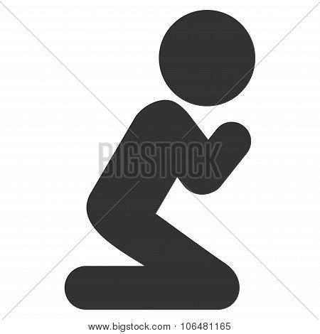 Child Pray Icon