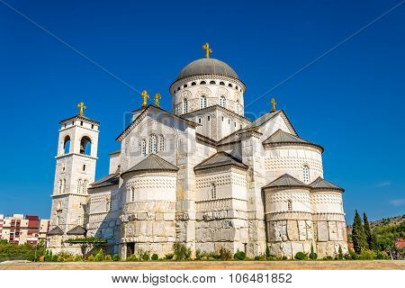 Cathedral Of The Resurrection Of Christ In Podgorica - Montenegro