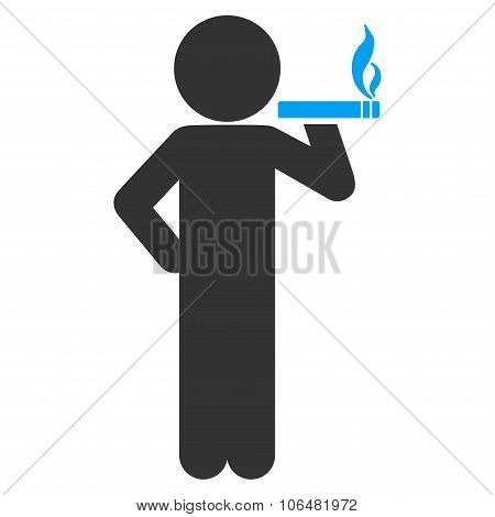 Smoking Child Icon