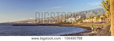 Pebble Beach Playa De Las Americas, Tenerife, Canary Islands, Spain